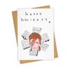 Tay Ham Bowie Happy Holidays Card
