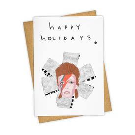 Tay Ham Tay Ham Bowie Happy Holidays Card