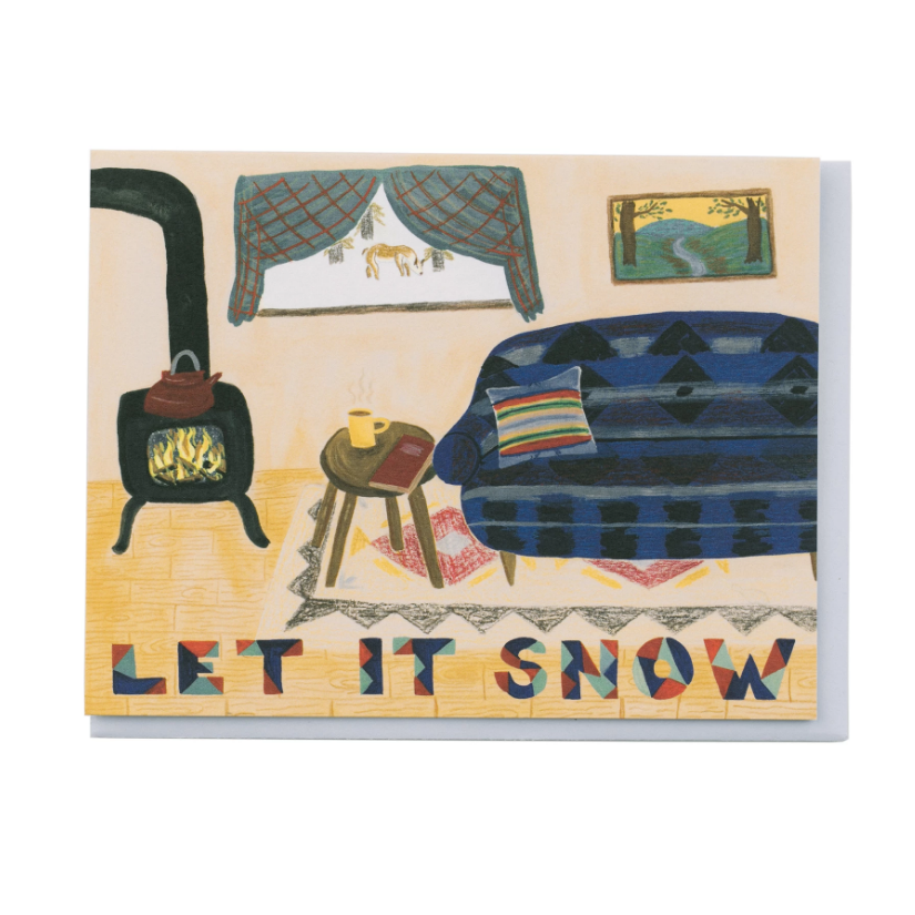 Small Adventure Small Adventure - Let it Snow Card