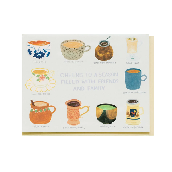 Small Adventures Small Adventure - Hot Drinks of the World Card