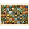 True South Puzzle - National Parks Patches