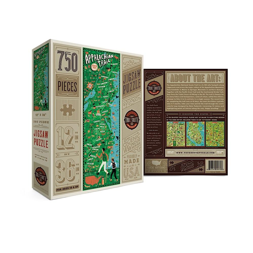 True South Puzzle True South Puzzle Appalachian Trail - 750 Pieces