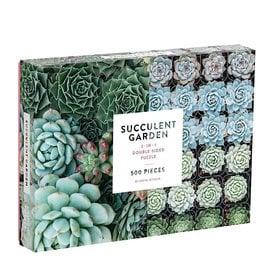 Galison Mudpuppy Succulent Garden Puzzle