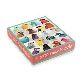 Galison Mudpuppy Avian Friends 1000 Piece Jigsaw Puzzle