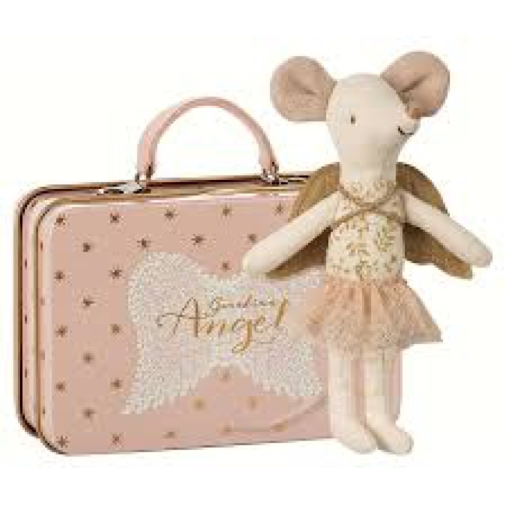 Maileg Maileg Mouse - Guardian Angel Big Sister in Suitcase