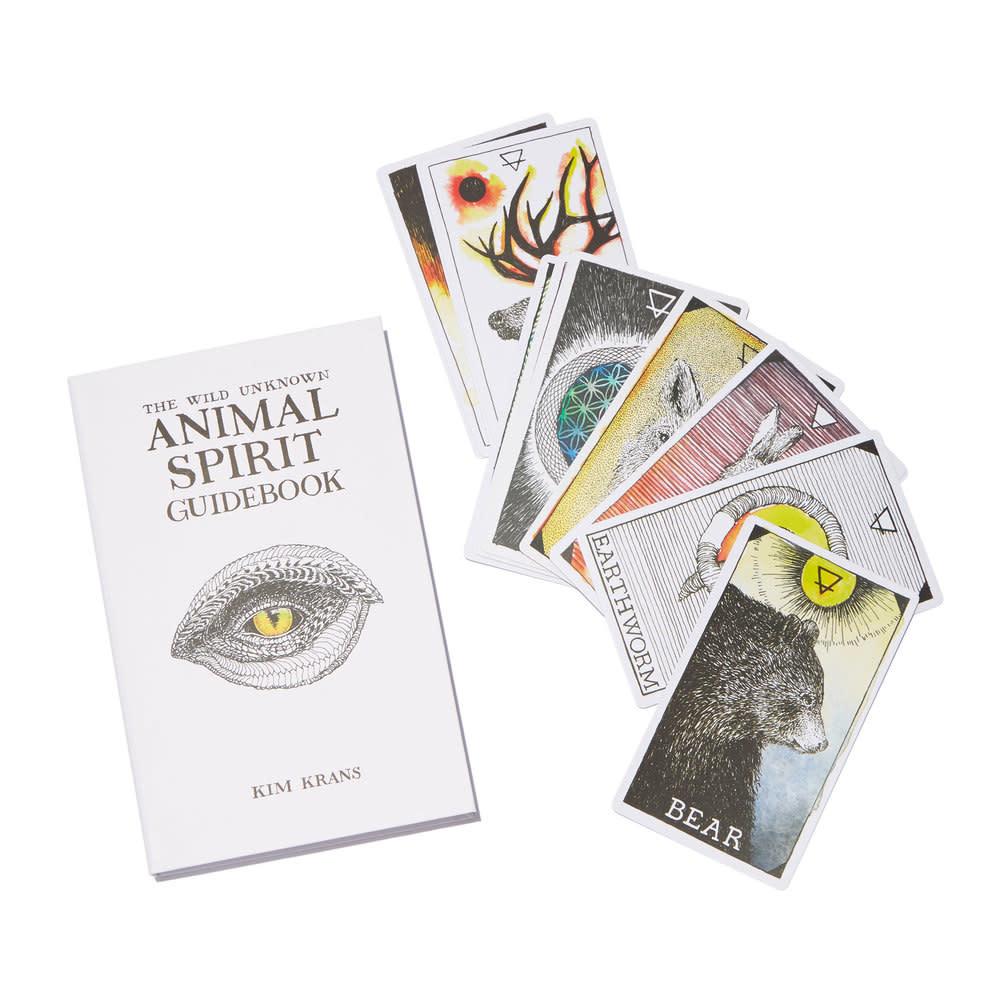 Harper Collins The Wild Unknown Animal Spirit Deck and Guidebook (Official Keepsake Box Set)