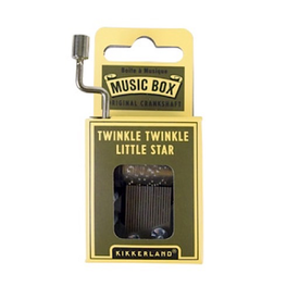 Kikkerland Music Box Twinkle Twinkle Little Star