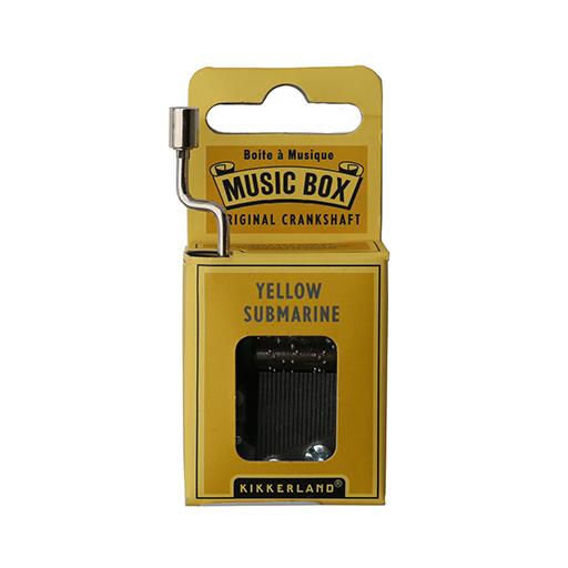 Kikkerland Music Box Yellow Submarine