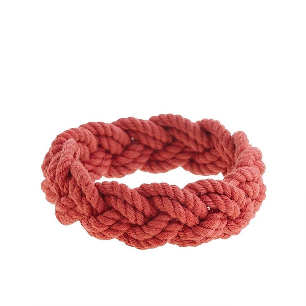 Nantucket Knotworks Rope Bracelet - Red