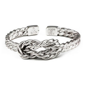 Kiel James Patrick KJP Sailor's Luck Bracelet - Silver