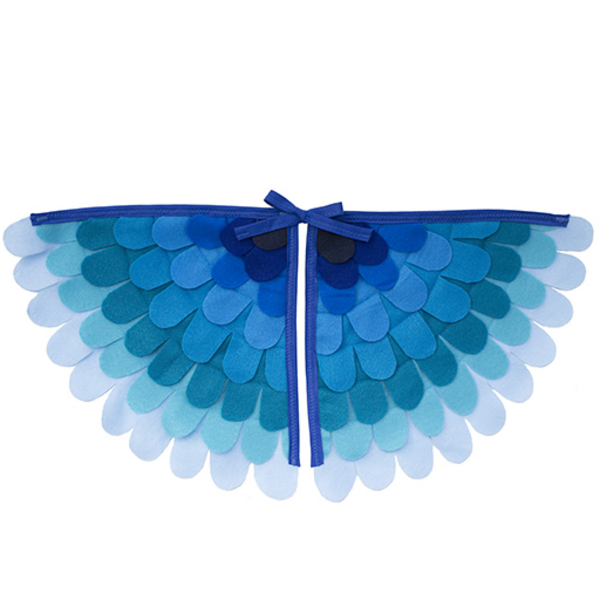 Tree And Vine Tree and Vine Magical Creature Wings Blue Ombre