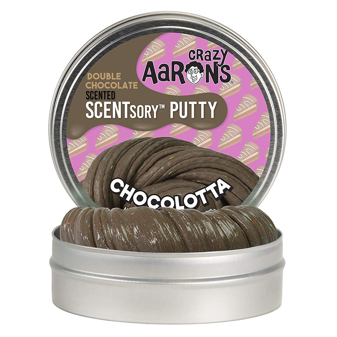Crazy Aaron's Thinking Putty SCENTSory Chocolotta 2.75""