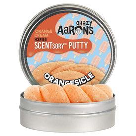 "Crazy Aaron Crazy Aaron's Thinking Putty SCENTSory Orangesickle 2.75"""