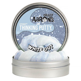 Crazy Aaron Crazy Aaron's Thinking Putty White Out 4""