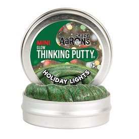 Crazy Aaron Crazy Aaron's Thinking Putty Mini Holiday Lights 2""