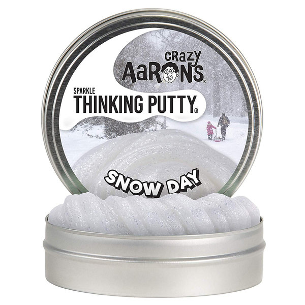 """Crazy Aaron Crazy Aaron's Thinking Putty - 4"""" - Snow Day"""