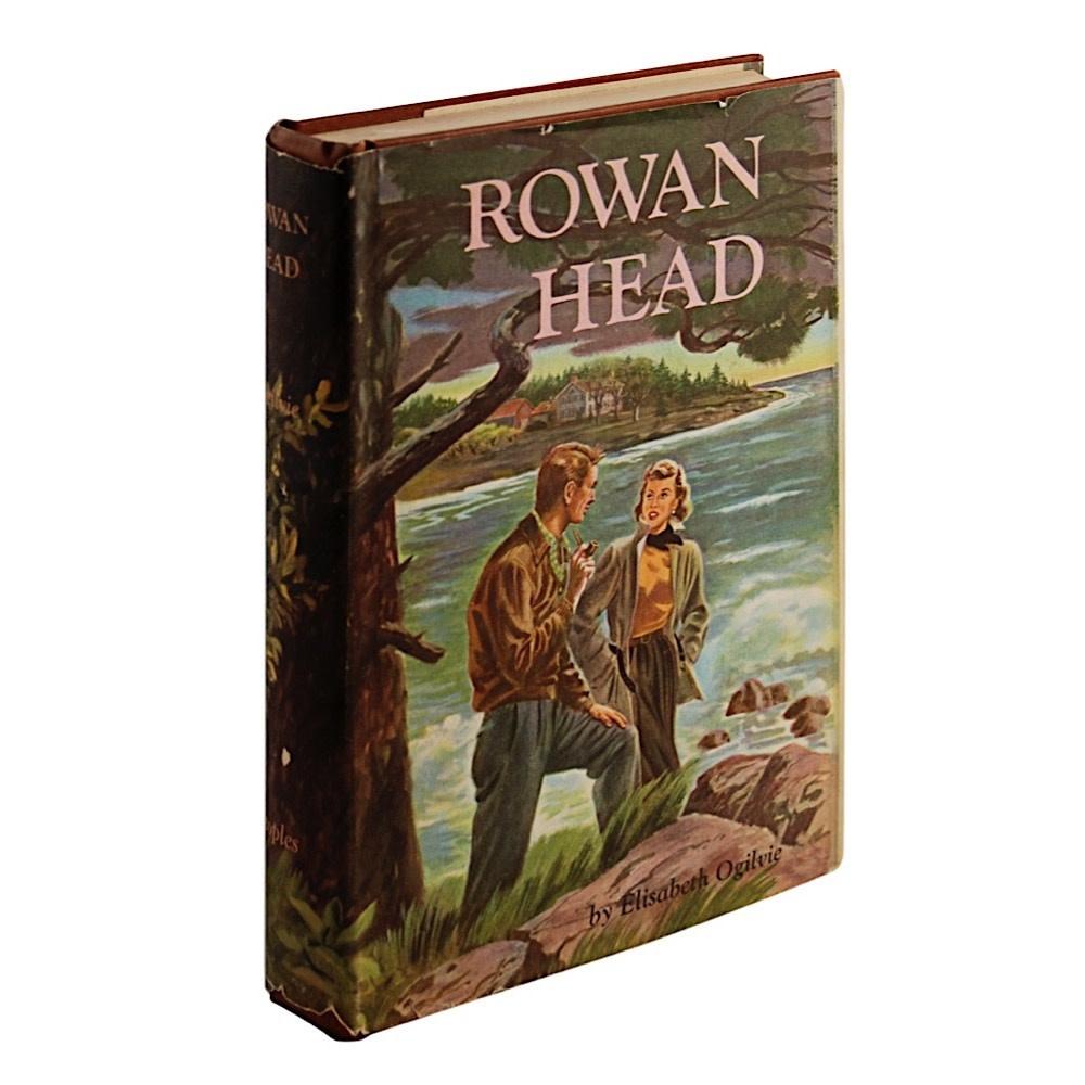 Vintage Rowan Head by Elisabeth Ogilvie - 1949 (Dust Jacket)