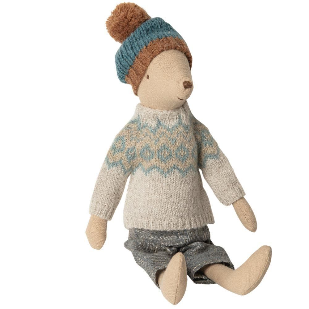 Maileg Mouse - Winter Boy - Medium