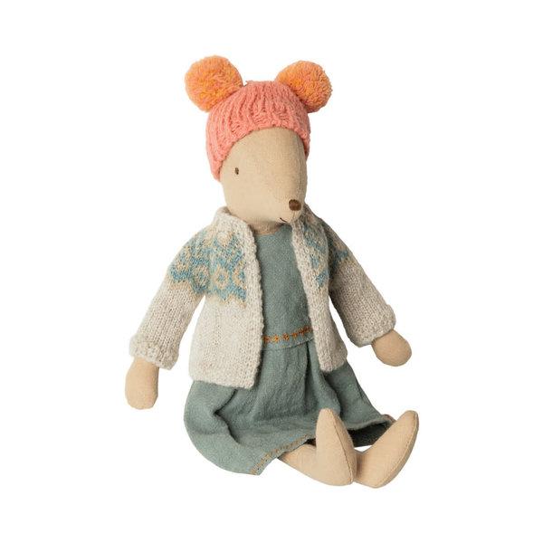 Maileg Maileg Mouse - Winter Girl - Medium