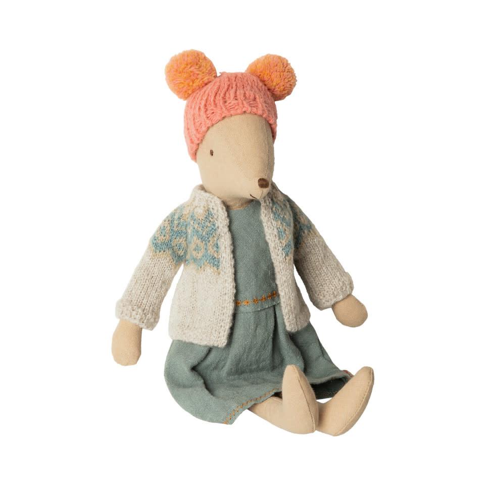Maileg Mouse - Winter Girl - Medium