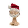 Kids Knit Santa Hat with Beard - 1-2T