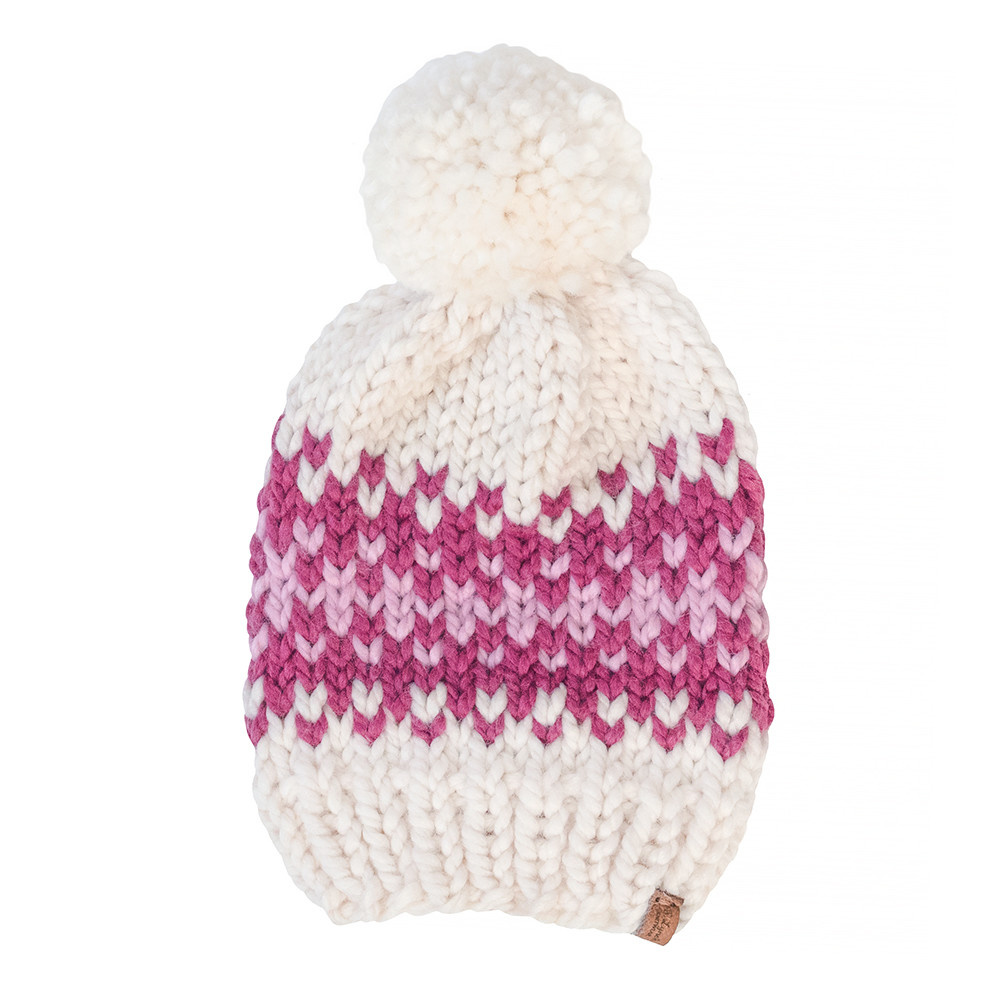 S. Lynch Knitwear S. Lynch Knitwear Child Hat - Pink Quilt Exclusive