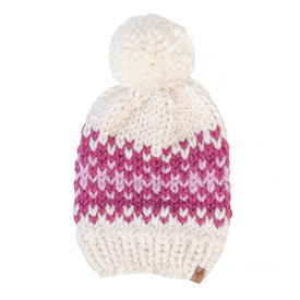 S. Lynch Knitwear S. Lynch Knitwear Adult Hat - Pink Quilt Exclusive
