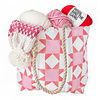 S. Lynch Knitwear Adult Hat - Pink Quilt Exclusive