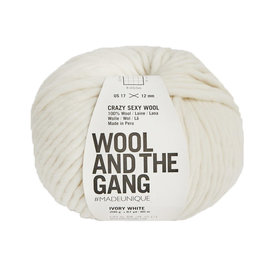 Wool And The Gang Wool And The Gang Crazy Sexy Wool - Ivory White