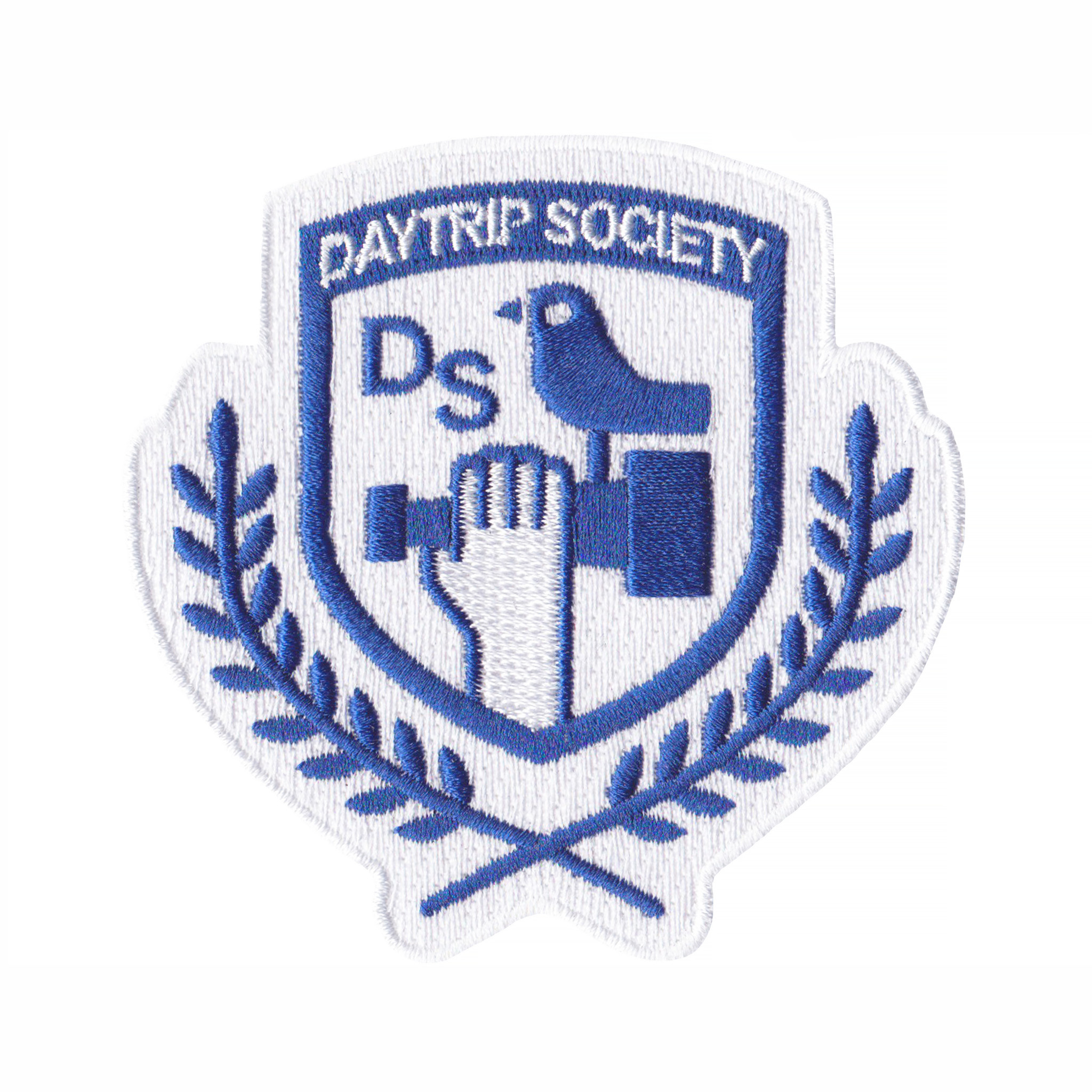 Daytrip Society Crest Iron-On Patch