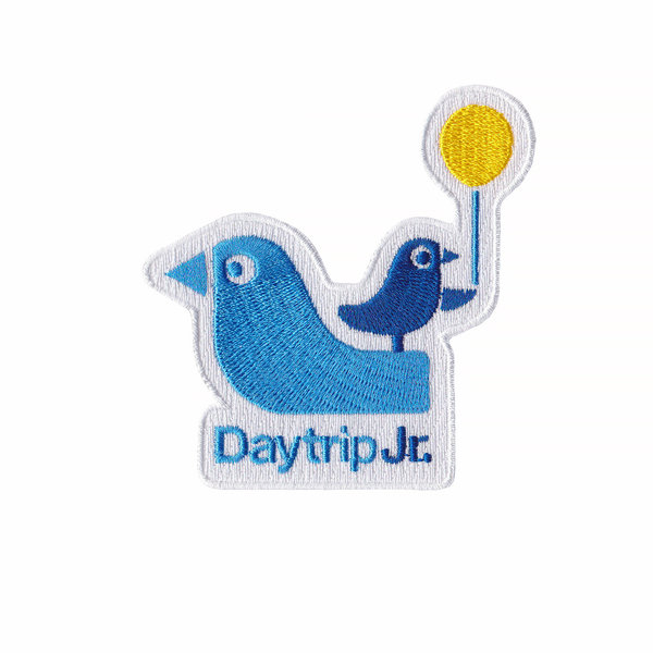 Daytrip Society Daytrip Jr. Iron-On Patch