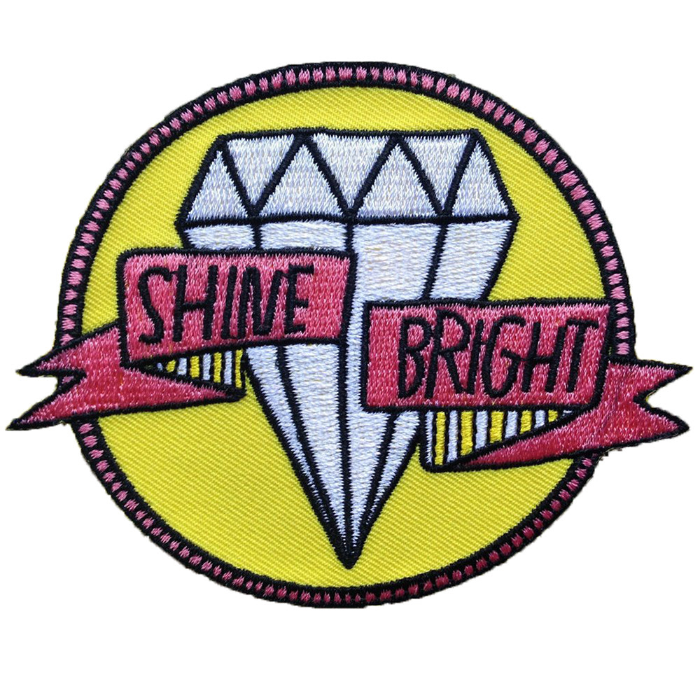 Quiet Tide Goods Patch - Shine Bright