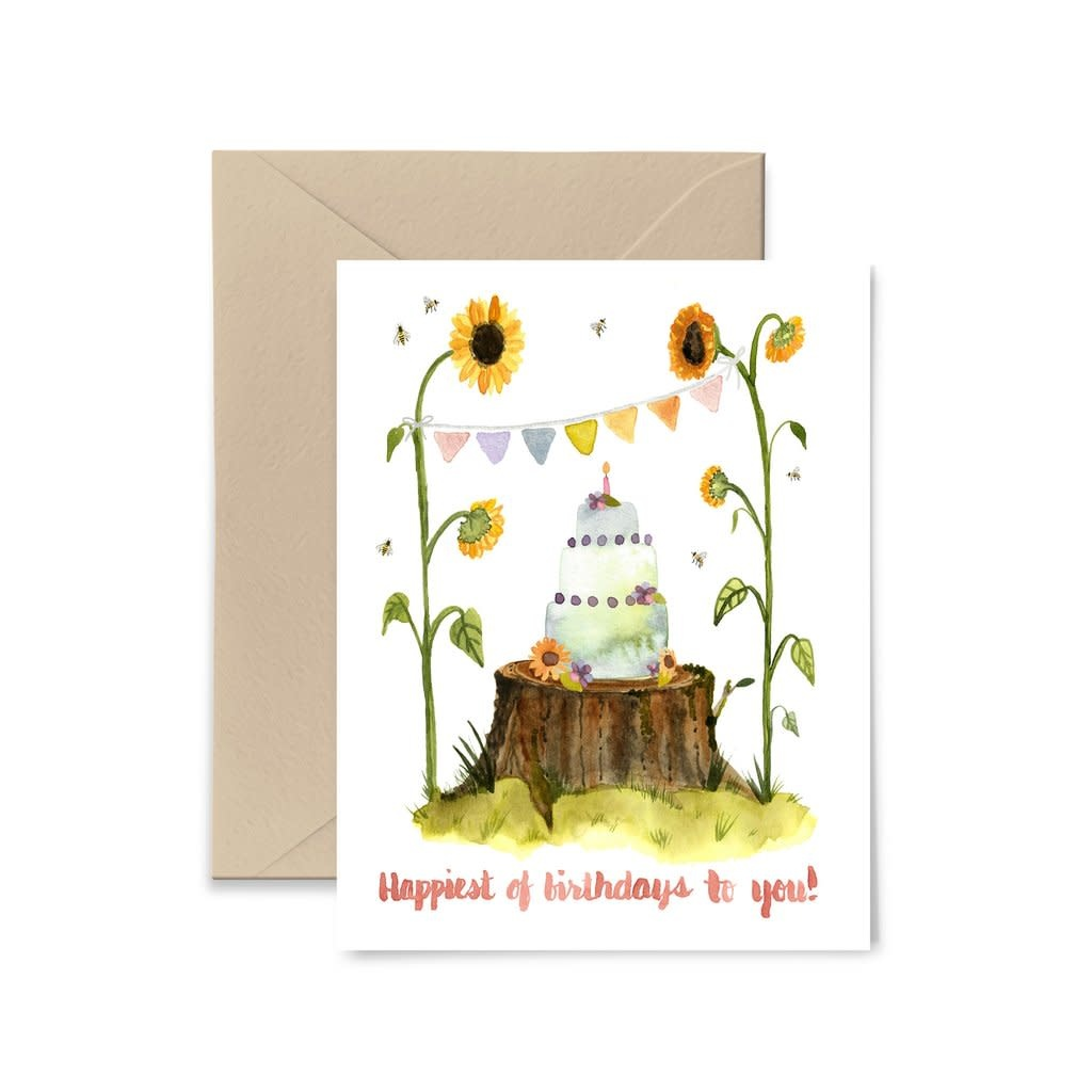 Buy Olympia Little Truths Sunflowers Birthday Card