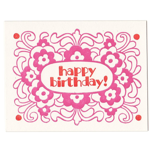 Morris & Essex - Birthday Flowers Card