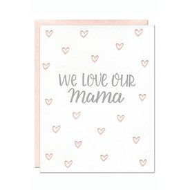 Parrott Design Studio Parrott Design Card - Our Mama