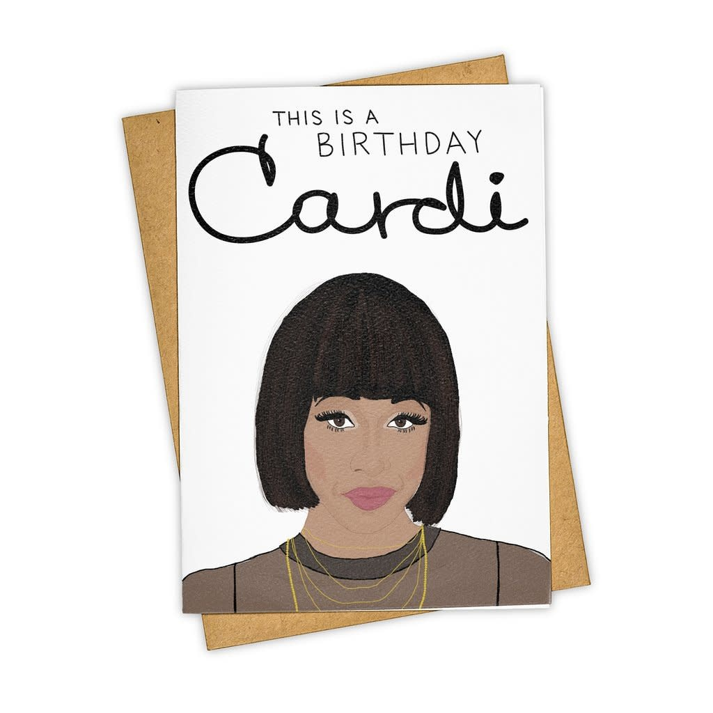 Tay Ham Tay Ham This is a Birthday Cardi Card