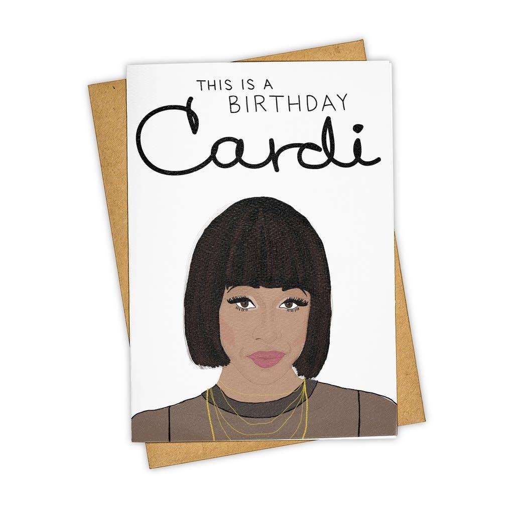 Tay Ham This is a Birthday Cardi Card