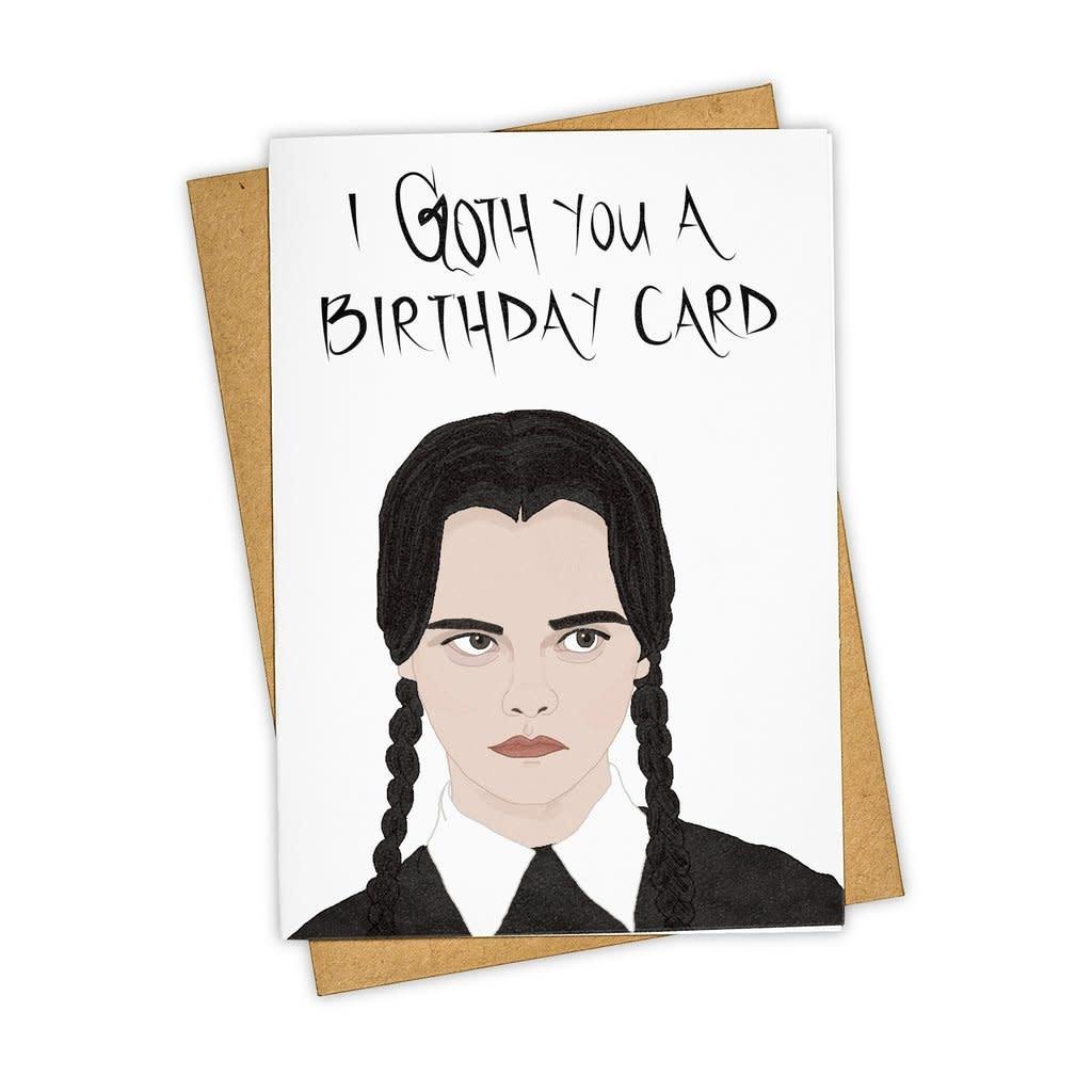 Tay Ham I Goth You A Birthday Card