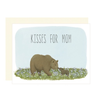 Yeppie Paper Kisses For Mom Card