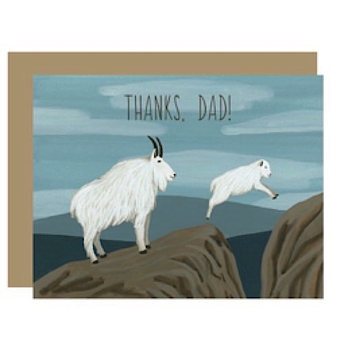 Yeppie Paper Mountain Goats Card