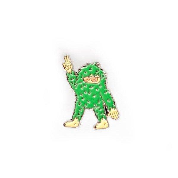 Ello There Ello There - Gold Enamel Pin - Sasquatch