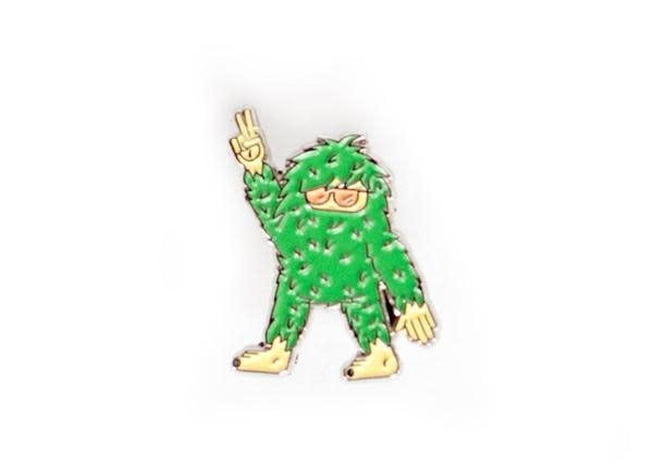 Ello There - Gold Enamel Pin - Sasquatch