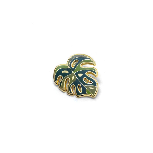 Lost Lust Supply Lost Lust Supply Enamel Pin - Synthesis Monstera Deliciosa