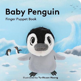 Chronicle Baby Penguin Finger Puppet Book