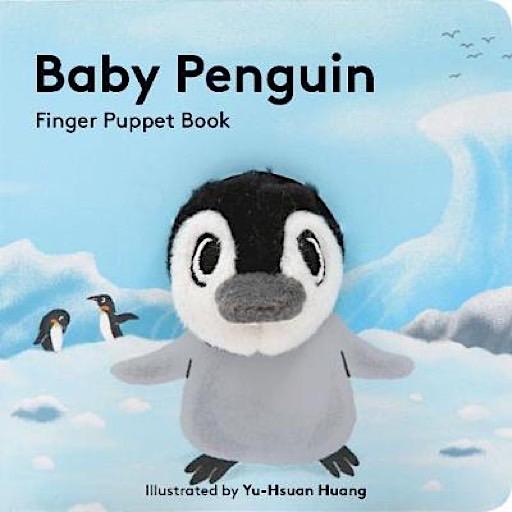 Chronicle Baby Penguin Finger Puppet Book