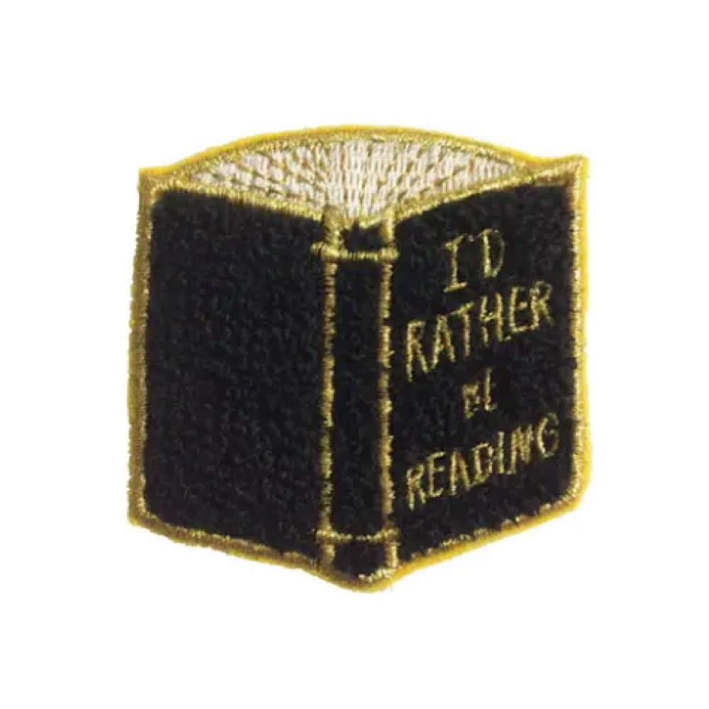 Idlewild Patch - I'd Rather Be Reading