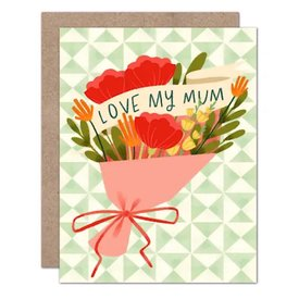 Olive & Company Olive & Company Card - Love My Mum Bouquet Mother's Day