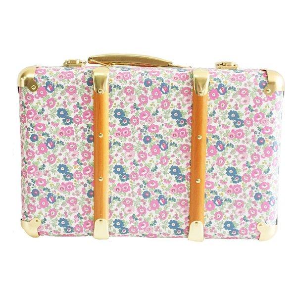 Alimrose Alimrose Mini Vintage Brief Case - Petit Floral