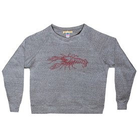Milo in Maine Milo In Maine Women's Long Sleeve Raglan Pullover - Lobster