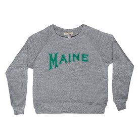 Milo in Maine Milo In Maine Women's Long Sleeve Raglan Pullover - Maine